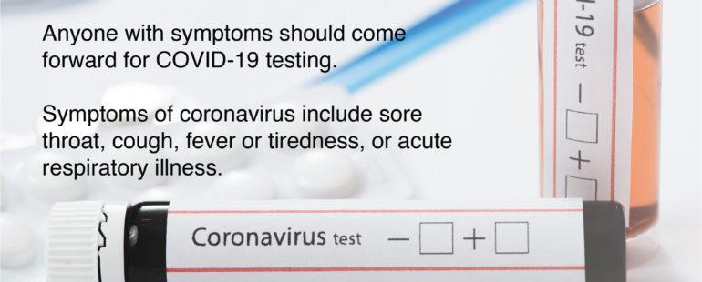 Find a COVID-19 testing centre near you