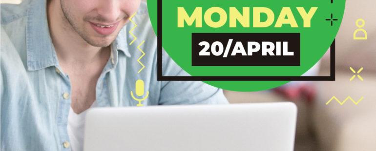Online Classes start on 20/04