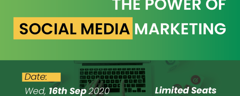 LIve Masterclass – The power of social media marketing