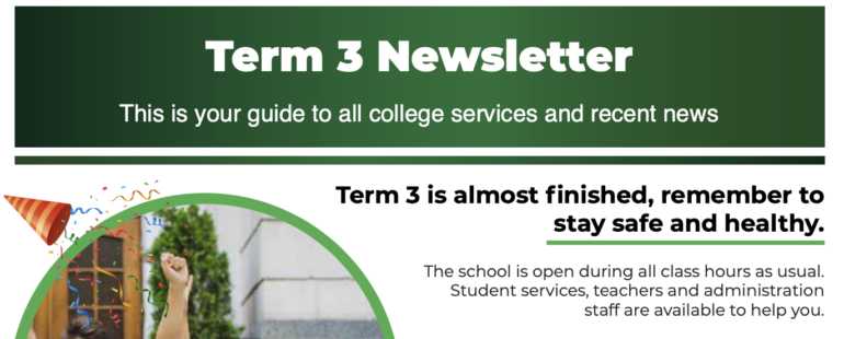 Newsletter T3 September 2020